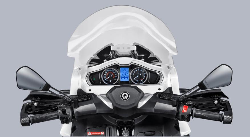 Accesorios Moto 3 Ruedas QV3 Madrid