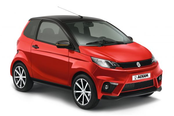 Aixam City GTO rojo Gesercar Madrid alternativa a Microcar MGO