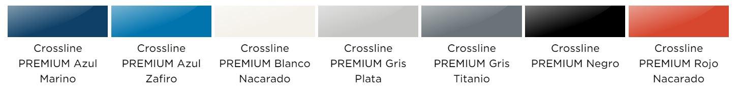Colores disponibles Aixam Crossover Premium Coche sin carnet Gesercar Las Rozas