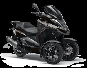 Moto de 3 ruedas QV3 Color Negro crudo Gesercar La Moraleja