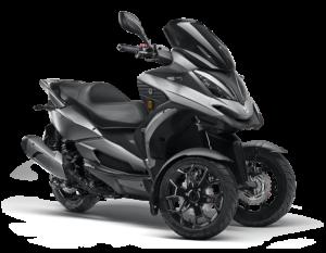 Moto de 3 ruedas Qv3 Color Gris Titanium Gesercar Las Rozas