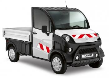 Cintas reflectoras de seguridad D-Truck Aixam PRO Paredes Amovibles Gesercar Coche Sin Carnet