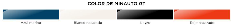 Colores Aixam Minauto GT Coche sin carnet Gesercar Las Rozas