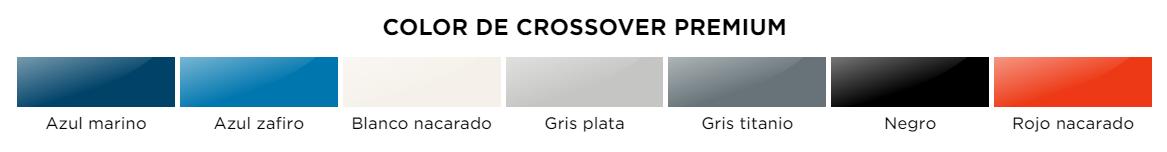 colores Aixam Crossover Premium